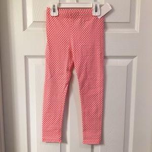 Carter's tiny print floral leggings size 5